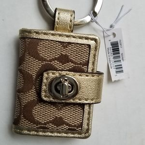Coach Picture Frame Book Keychain